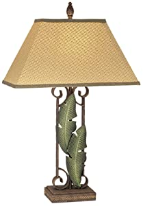 Pacific Coast Lighting Banana Leaves Table Lamp