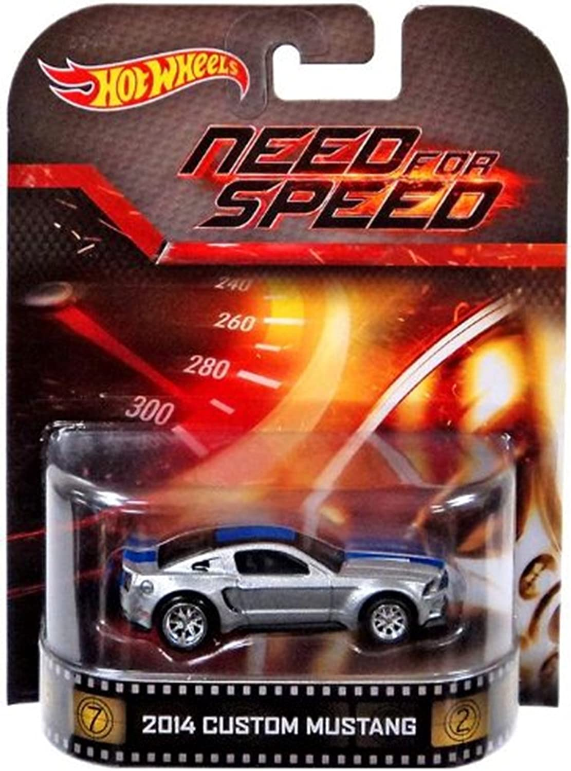 Amazon Com Hot Wheels 2014 Custom Mustang Need For Speed 2014