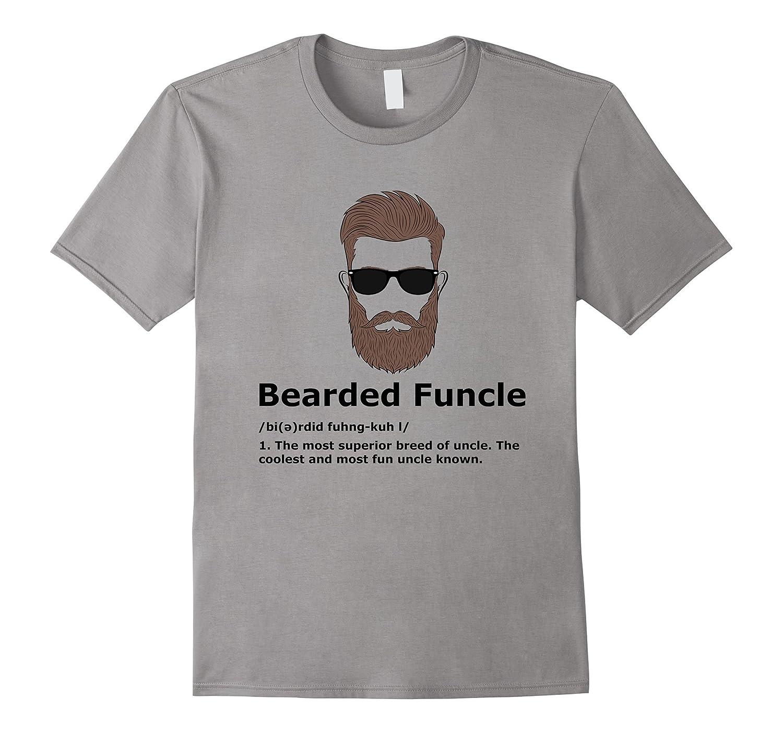 d33b8a61 Mens Bearded Funcle Shirt Funny Uncle Definition T-Shirt-BN – Rateeshirt