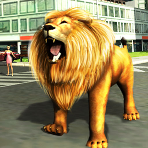 Angry Lion Attack Simulator 2016