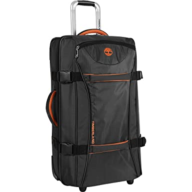 c42e5f20ec Timberland Wheeled Duffle Bag - 26 Inch Lightweight Rolling Luggage Travel  Bag Suitcase for Men