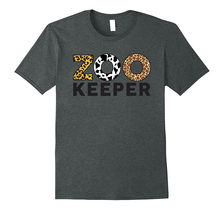 Zookeeper African Savanna Animal Print T-Shirt-FL