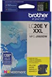Brother LC20EY Super High Yield Yellow Ink Cartridge