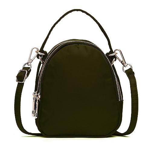 951ccd5aeb31 Small Crossbody bag,Volganik Rock Multi Pocket Cell Phone Purse Wallet  Water Resistant Nylon Handbag for Women
