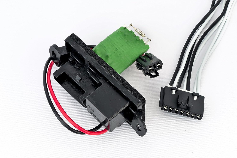 Amazon.com: HVAC Blower Motor Fan Resistor Kit With Harness ...