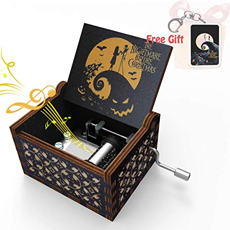 Amazon Com Halloween Music Box Tiny Gifts Wooden Nightmare Before Christmas Decorations Decor Musical Box Engraved Hand Crank For Daughter Mom Wife Kids Girlfriend Women Nightmare Before Christmas Music Box 1 Home Kitchen Free mp3 sounds to play and download. halloween music box tiny gifts wooden nightmare before christmas decorations decor musical box engraved hand crank for daughter mom wife kids