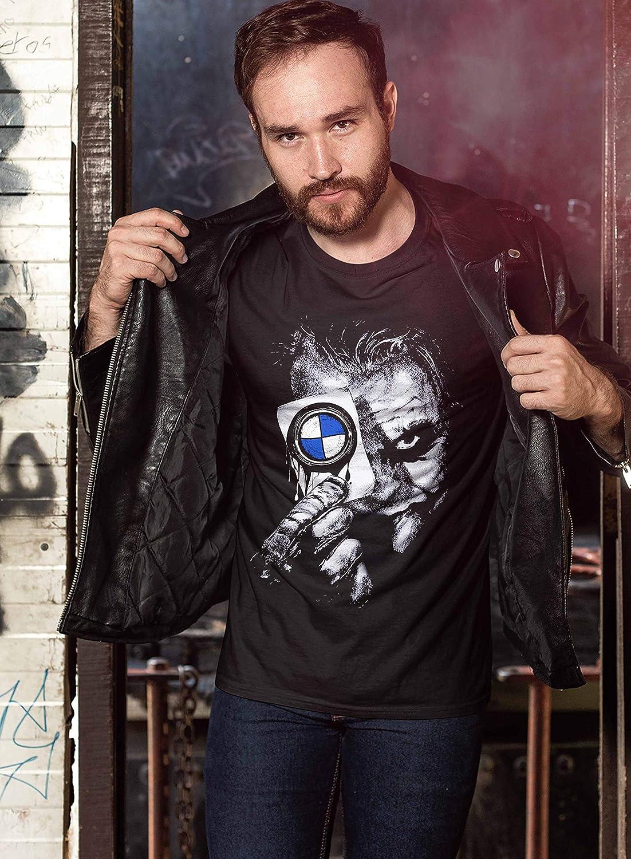 Camiseta de Manga Corta para Hombre de Lulchev para Power M Tuning M3 M5 M6 X6 X5 M E30 E46 E90 F10 T