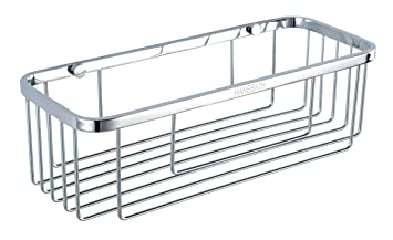 Rustproof Shower Caddy   Stainless Steel Wall Mount Basket For Bathroom    11.8inch Long,