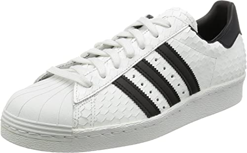 adidas Originals Baskets Superstar 80s Blanc Homme: Amazon