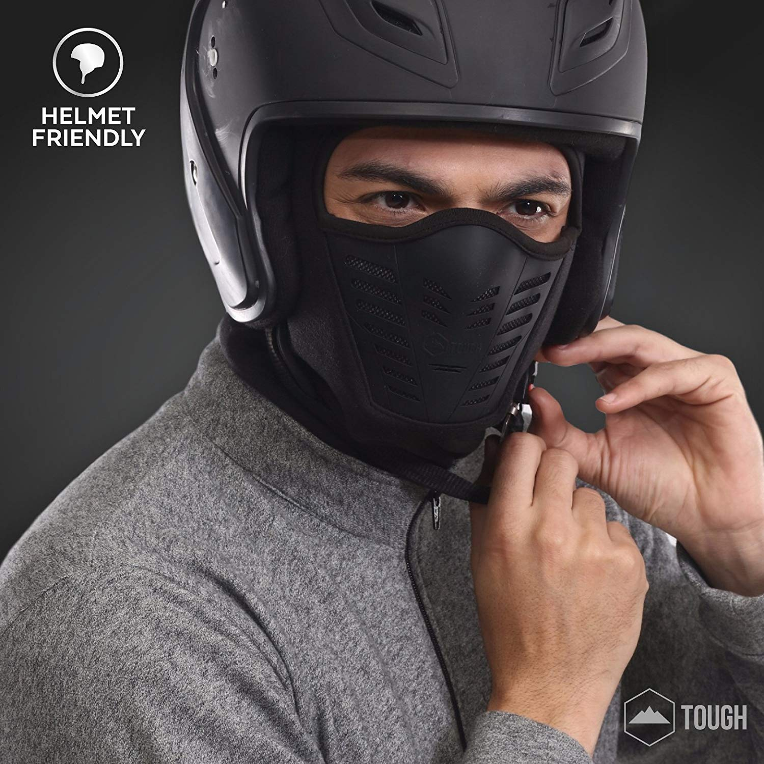 Ski /& Snowboard Winter Gear for Men /& Women Motorcycle Balaclava Fleece Hood /& Ski Mask with Air Mask Heavyweight Extreme Cold Weather Face Mask Ultimate Protection from the Elements