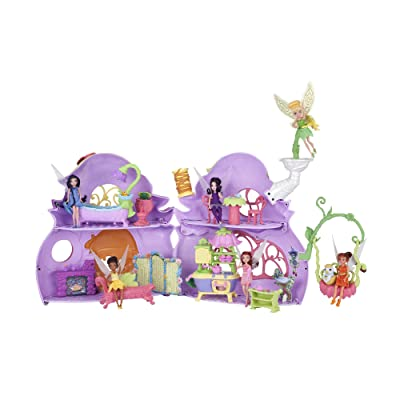 Disney Fairies Ultimate Fairy House - Tink's Pixie Cottage: Toys & Games
