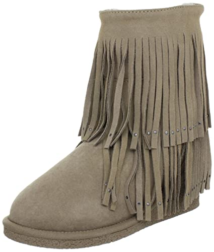 8e5dc11f7c8 Koolaburra Women's Savannity Double Fringe Boot