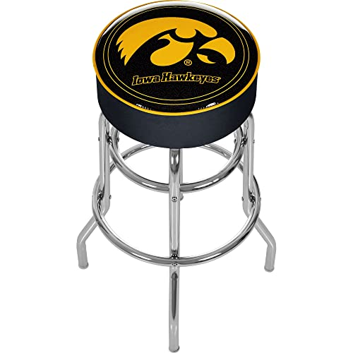 NCAA Logo Padded Bar Stool