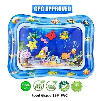 Amazon.com: QPAU - Alfombrilla hinchable para niños con ...