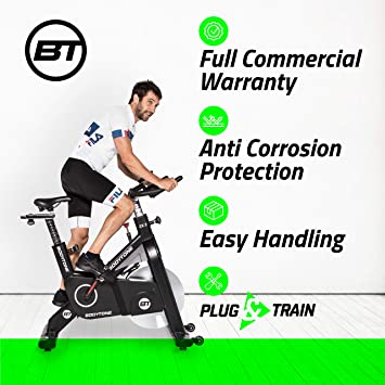 BT BODYTONE - EX2 - Bicicleta Estática Profesional de Ciclo Indoor ...
