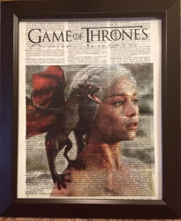 Amazon.com: Game of Thrones Movie Series Dictionary Book Page ...