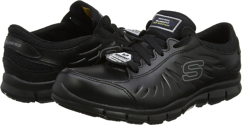 Skechers Work: Relaxed Fit Eldred Sr, Zapatos de Seguridad para Mujer