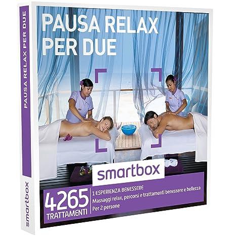Smartbox Cofanetto Regalo - PAUSA RELAX PER DUE - Massaggi relax ...