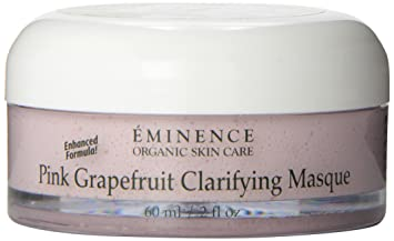 Eminence Clarifying Masque, Pink Grapefruit, 2 Ounce Darphin Fibrogene Line Response Nourishing Cream for Dry Skin, 1.7 Ounce