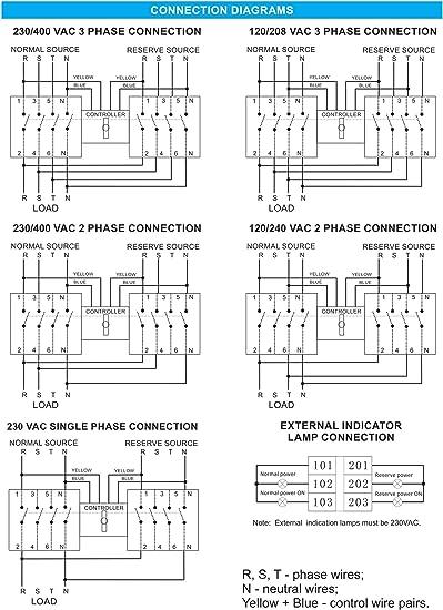 U6700 U65b0120208v Single Phase Wiring Diagram