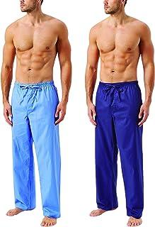 Wolsey Men's Cotton Pyjama Pants (2 Pack)