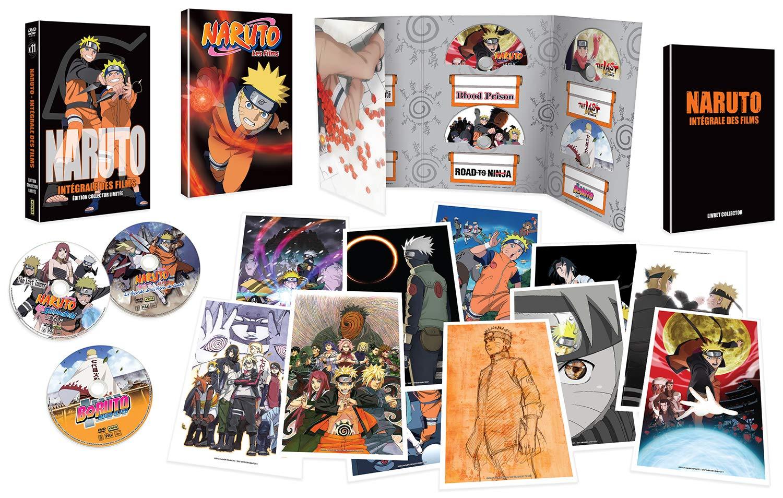 Amazon.com: Naruto : Les 11 Films [Édition Collector Limitée ...