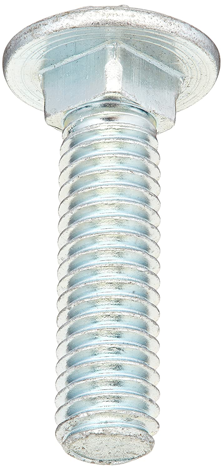 Piece-6 Midwest Fastener Corp Hard-to-Find Fastener 014973453237 Carriage Bolt Grade 5 7//16-14 x 1-3//4