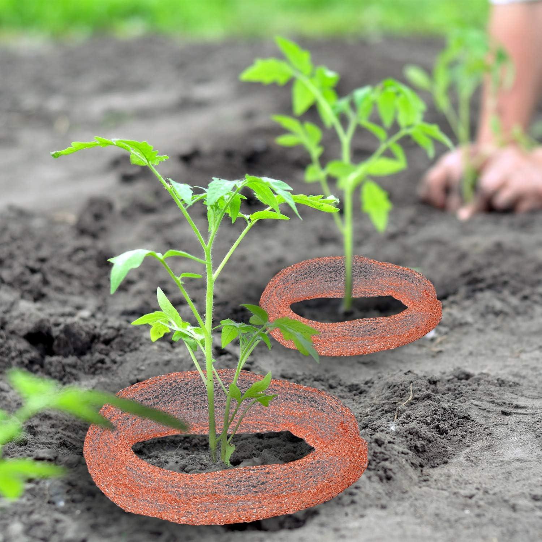 Elcoho - Malla de cobre de malla de metal para el hogar, jardín: Amazon.es: Jardín