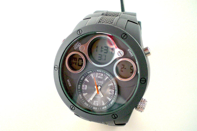 Sami RSM-77752-4 Reloj Dual Digital Analogico Modulo Especial Water Resistant 30m: Amazon.es: Relojes