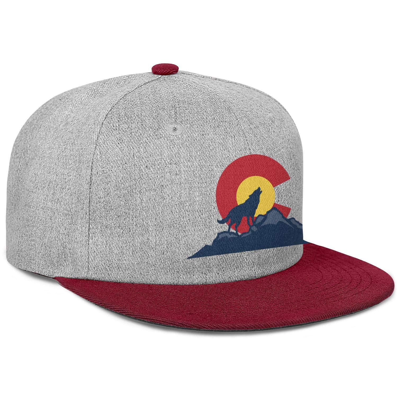 FYFYOK Men Women Trucker Hat Bring Wolves Back to Colorado Snapback Adjustable Cap