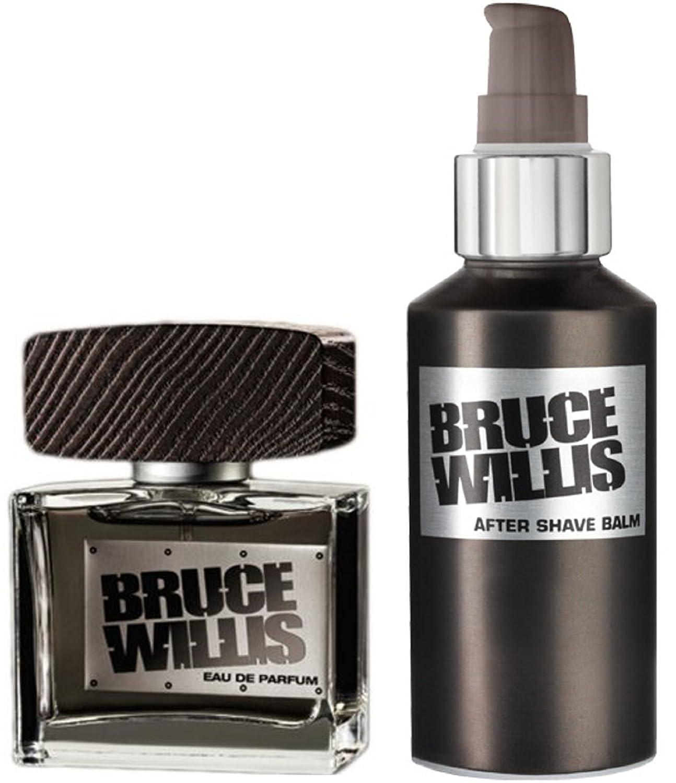1a LR 3505+3507 Parfum-Geschenk-Set BRUCE WILLIS --- EdP 50ml + After Shave Balm 100ml 3505 + 3507