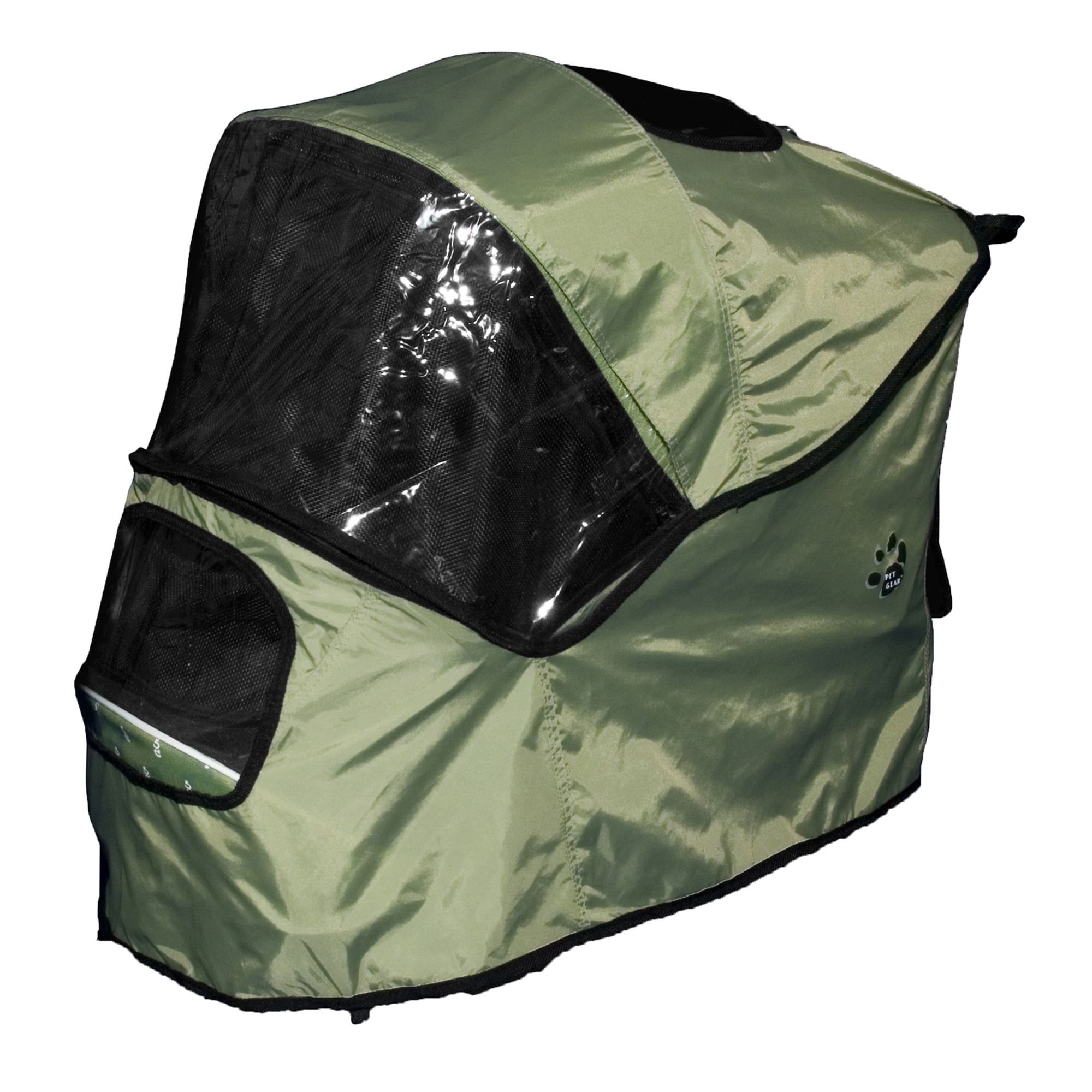Pet Gear Weather Cover for Special Edition Pet Stroller, Sage