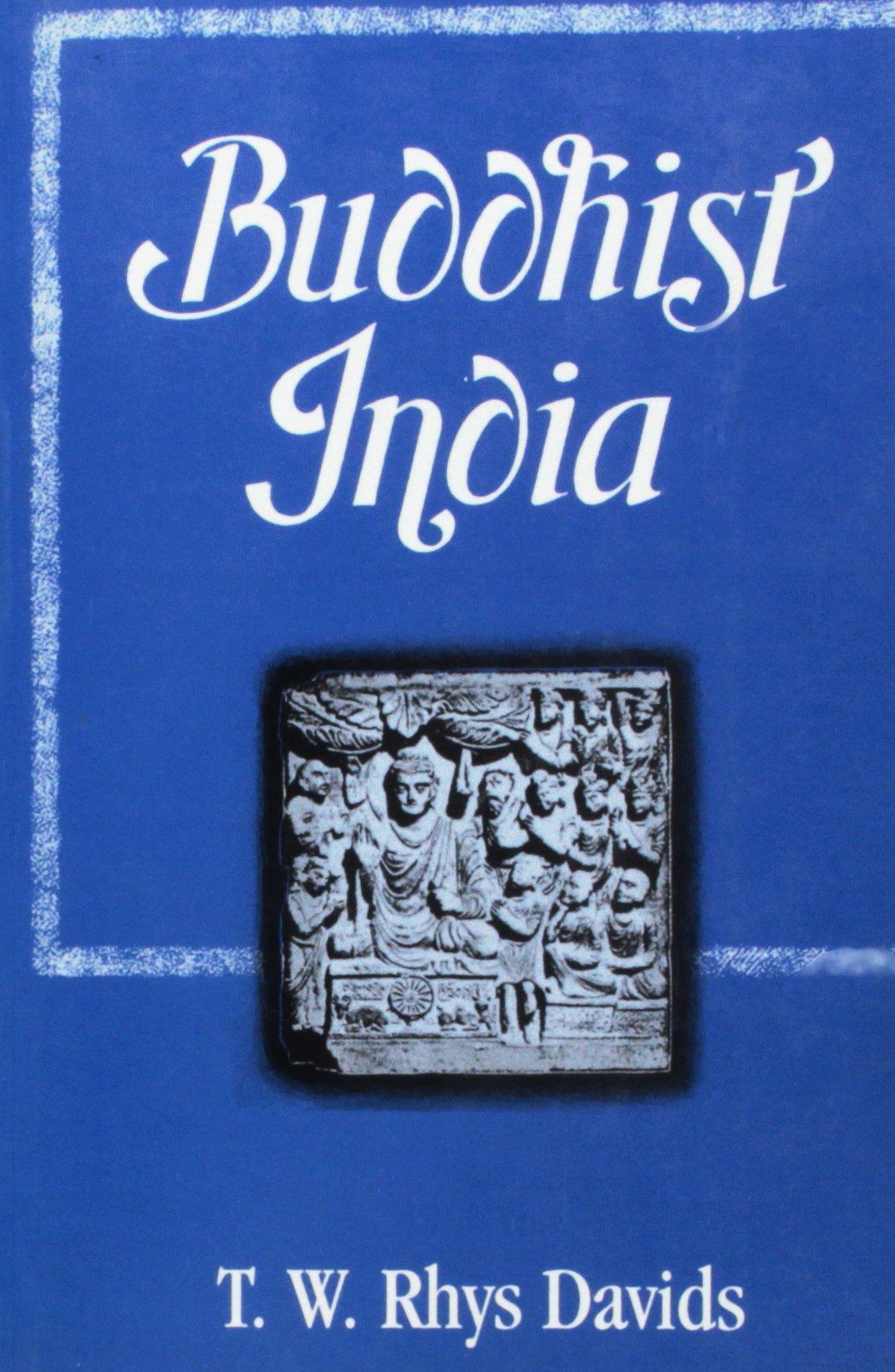 Rhys Davids Buddhist India cover art
