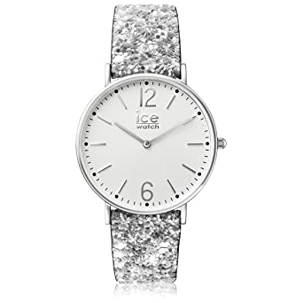 225850d4fa5f8 Ice-Watch - City Madame Silver - Montre Argent pour Femme avec Bracelet en  Nylon