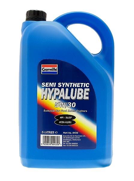 Granville 0435 Hypalube - Aceite semisintético de motores ...