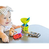 The Grapple Crunchy Green Grapple - The Essential Toy Tether, Green