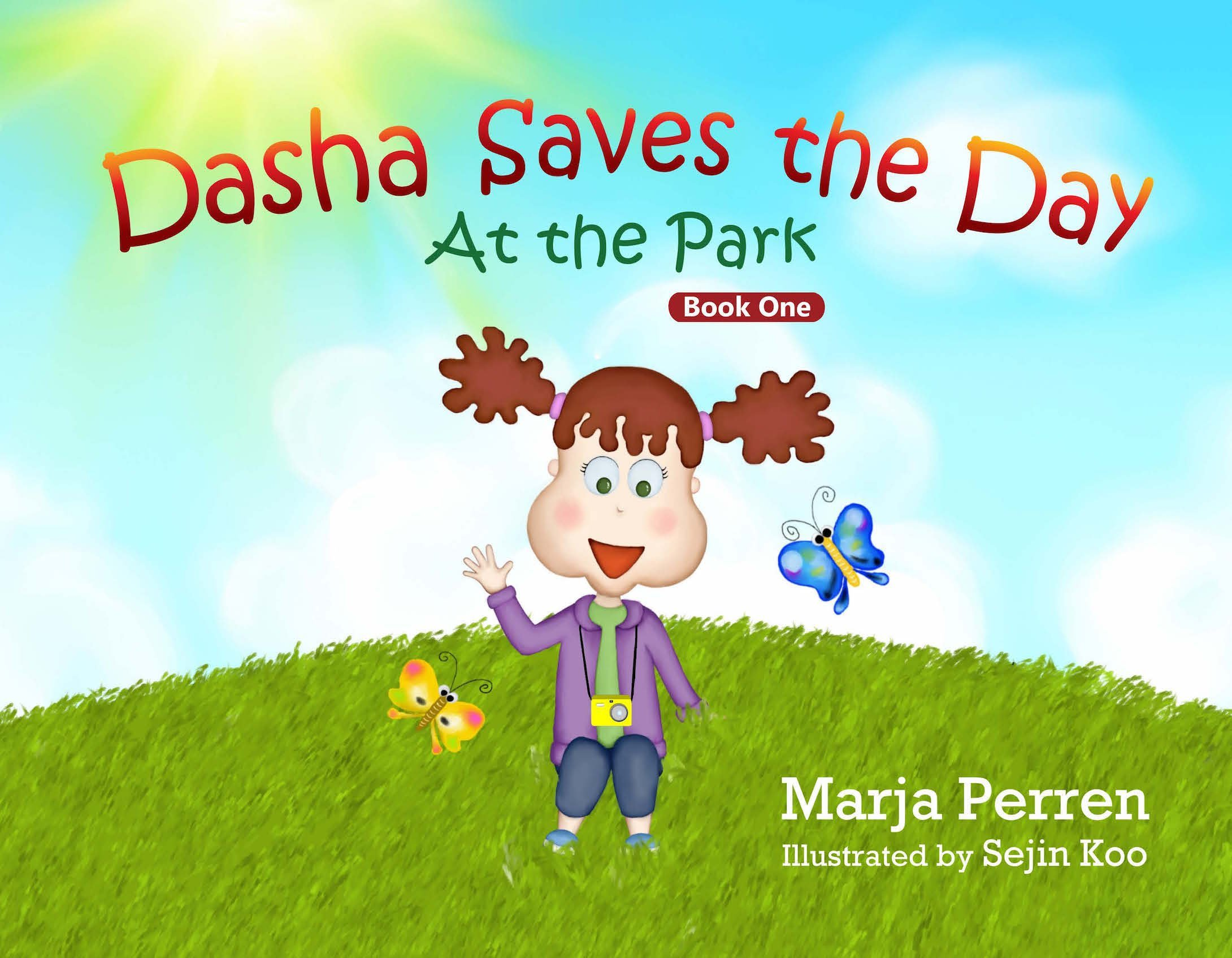 Download Dasha Saves the Day: At the Park (Book One) Children's Book ebook