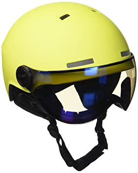 Black Crevice Skihelm - Casco de esquí, color Amarillo/Azul (Yellow/Blue