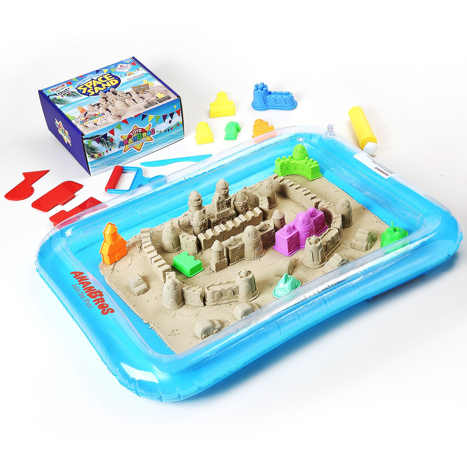 Amazon Kinetic Play Sand Magic Space Sand Castle Building