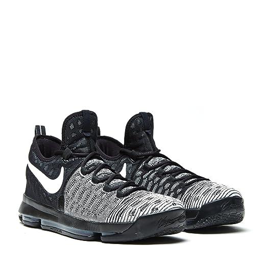 bece7a621eb8 ... Nike Mens Zoom KD 9 BlackWhite Basketball Shoe 10.5 Men US ...
