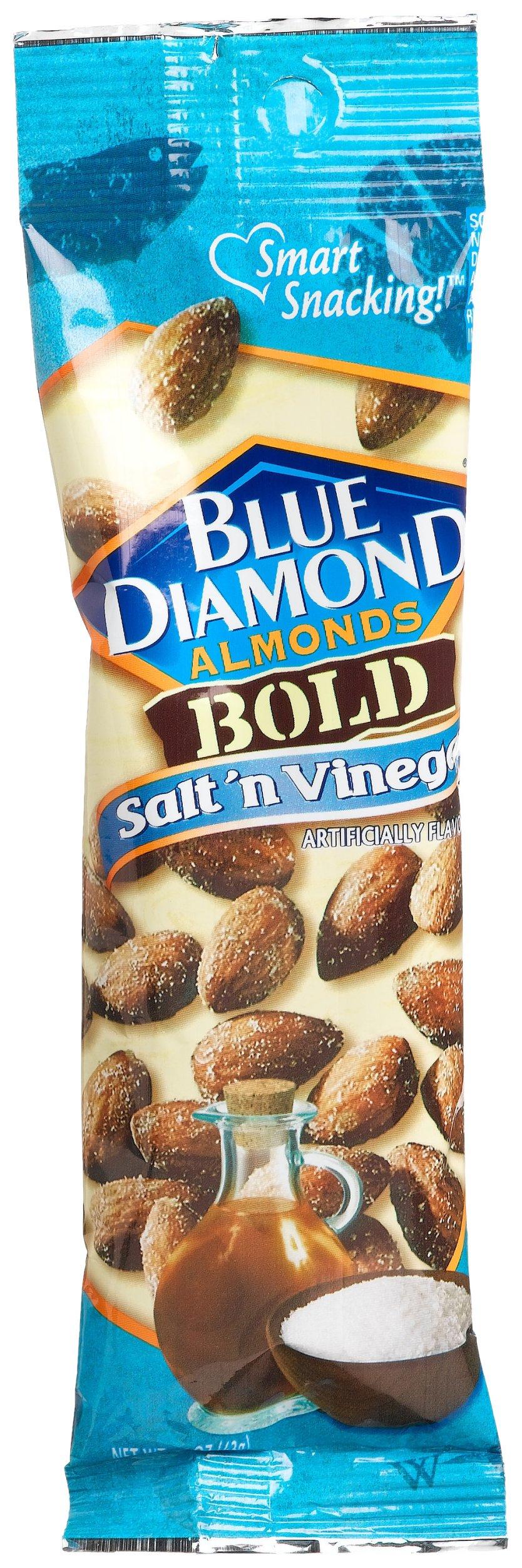 Blue Diamond Almonds, Bold Salt & Vinegar, 1.5 Ounce (Pack of 24) by Blue Diamond Almonds (Image #2)