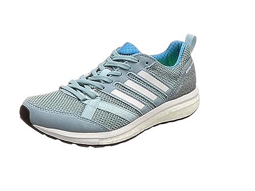 free shipping 7fd38 d6e81 adidas Damen Adizero Tempo 9 Traillaufschuhe Weiß (FtwblaAeroazNegbas  000) 36