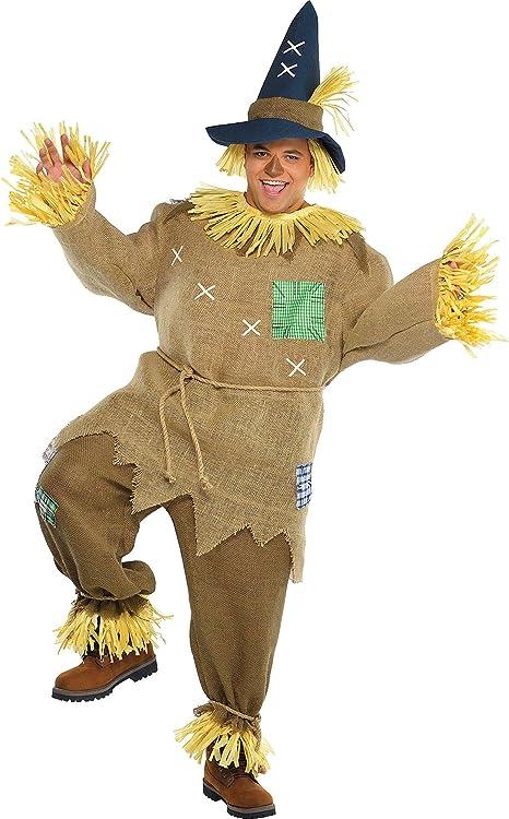 Herren Lebenden Vogelscheuche Maskenkostüm Scarecrow Costume