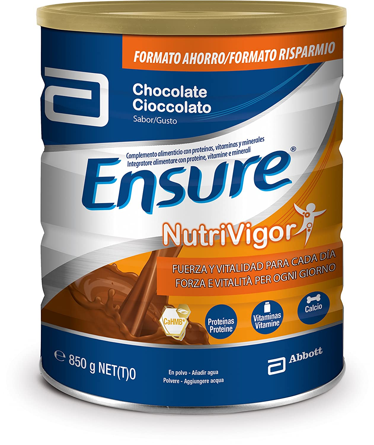 Amazon.com: Ensure Nutrivigor Cioccolato Integratore Alimentare 850g: Health & Personal Care