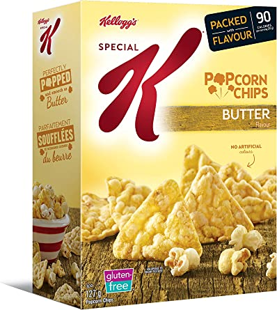 Kellogg S Special K Popcorn Chips Butter 127 Gram Amazon Ca Grocery
