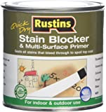 Rustins 5015332002207 Stain Block & Multi Superficie Primer 1 Bianco