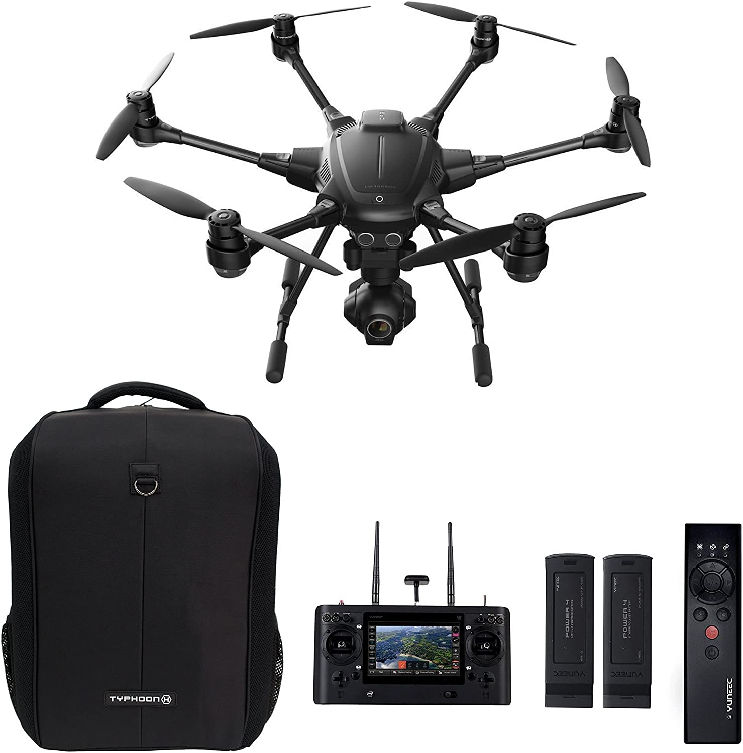 Yuneec Typhoon H Drone is at # 5 for best drones under 1000 dollars