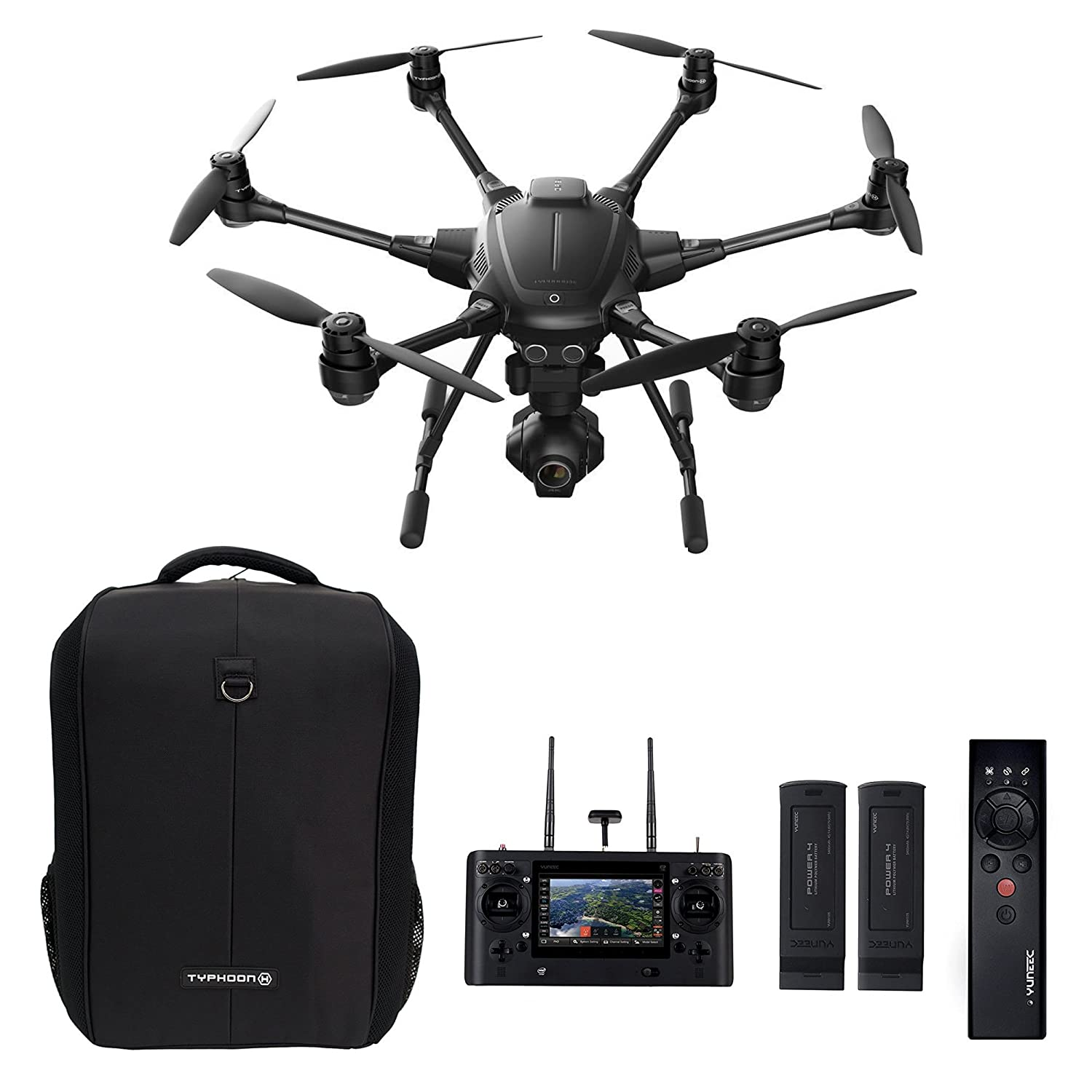 Typhoon H Pro >> Amazon Com Yuneec Typhoon H Pro Bundle Ultra High Definition 4k