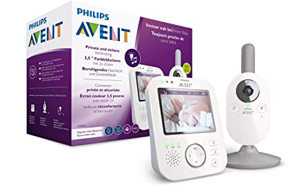 Philips AVENT Baby monitor SCD843/26 video-monitor para ...