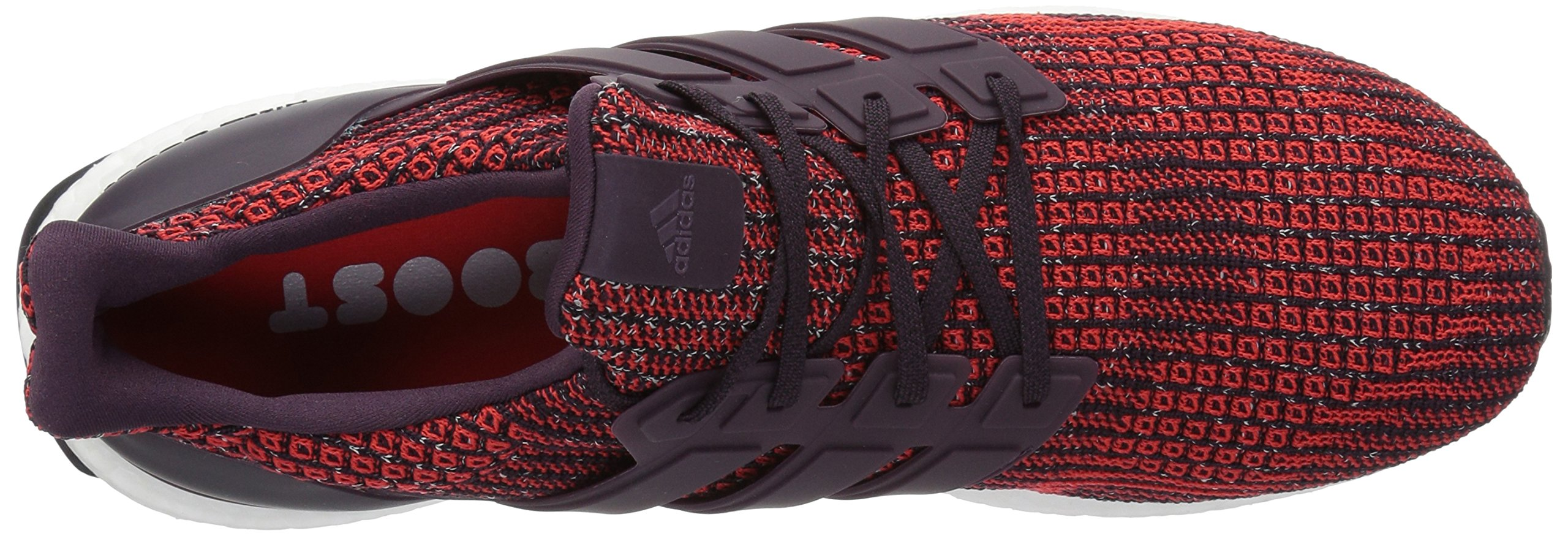 adidas Men's Ultraboost Road Running Shoe, Noble Red/Noble Red/Core Black, 5 M US by adidas (Image #8)